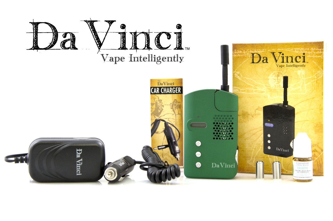 Green Davinci Vaporizer - Groupon Deal